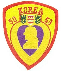 Korea Purple Heart Patches
